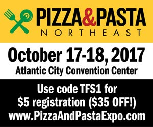 Pizza and Pasta Northeast 2017 – Sept 2017 – 300×250