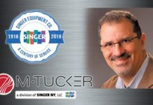 Singer Equipment M. Tucker Michael Greenwald