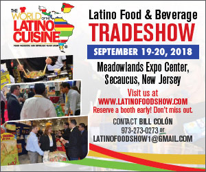World of Latino Cuisine June 2018 300×250