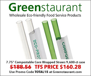 Greenstaurant July 2018 Straws 300×250