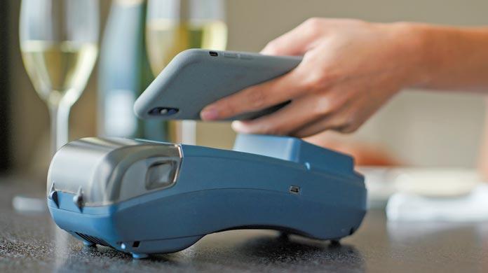 phone payment POS Grubhub DoorDash Uber Eats