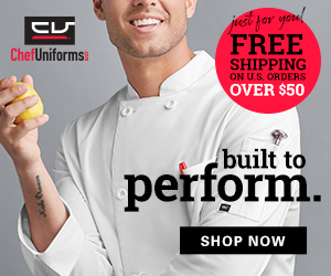 Chef Uniforms August 2021 300×250