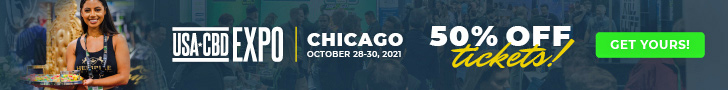 CBD Expo USA September 2021 728 × 90